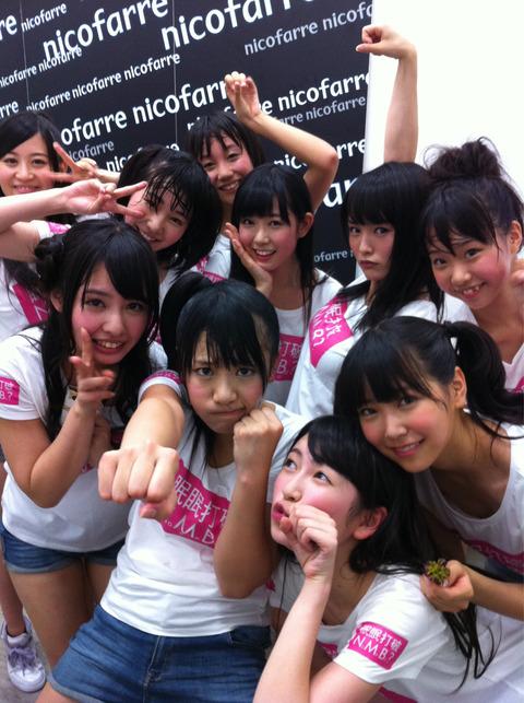 【画像あり】14歳中学生 NMB48メンバーの乳首が映り込む事故wwwww